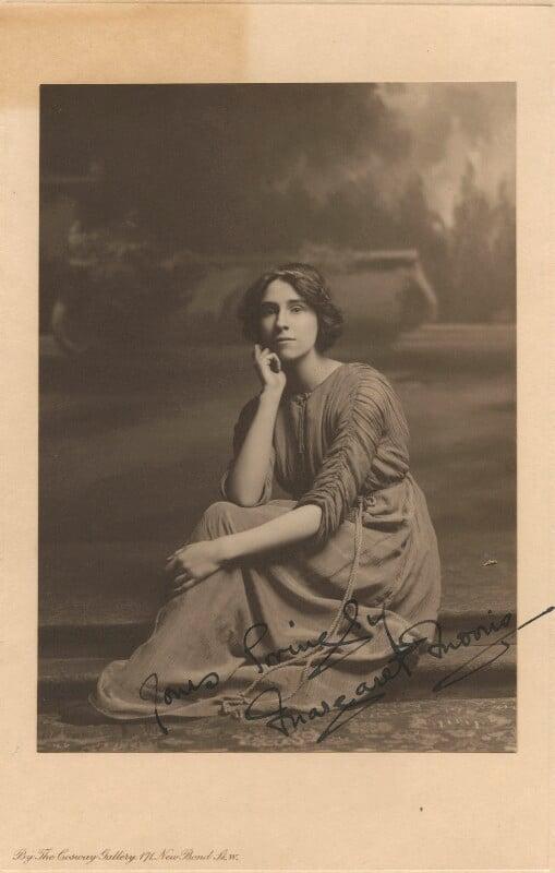 Margaret Morris, by Esmé Collings, circa 1910 - NPG x200811 - © National Portrait Gallery, London