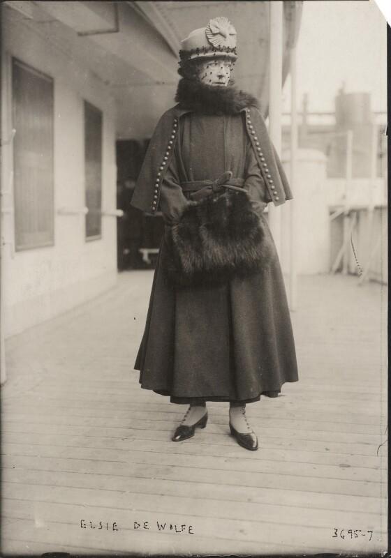 Elsie de Wolfe, Lady Mendl, for Unknown photographer, 1910s - NPG x198246 - © National Portrait Gallery, London