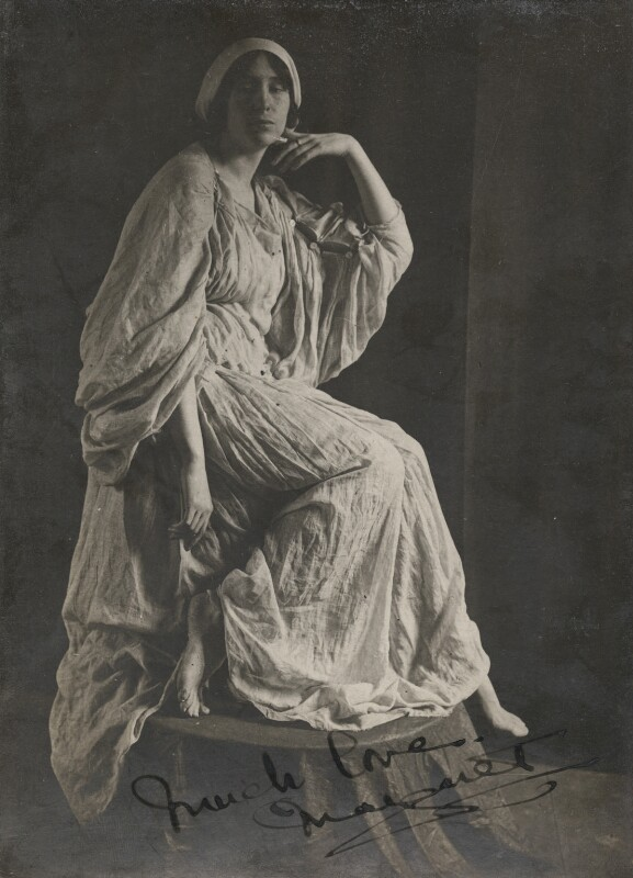 Margaret Morris, by Unknown photographer, early 1910s - NPG x200812 - © National Portrait Gallery, London