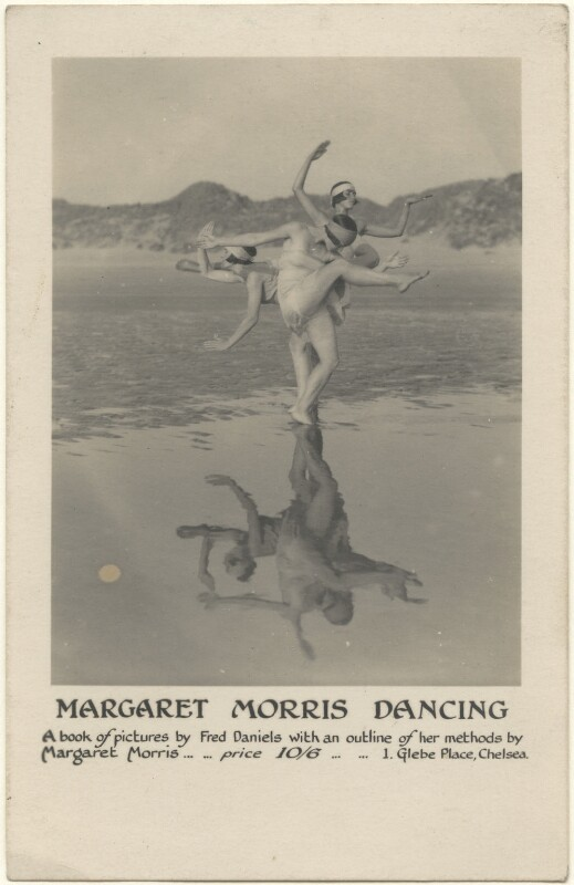 'Reflections' (Margaret Morris and her dancers), by Fred Daniels, 1919 - NPG x200815 -