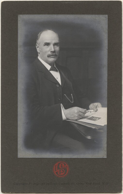 George Nicoll Barnes, by Lena Connell (later Beatrice Cundy), circa 1905 - NPG x198251 - © reserved; National Portrait Gallery, London