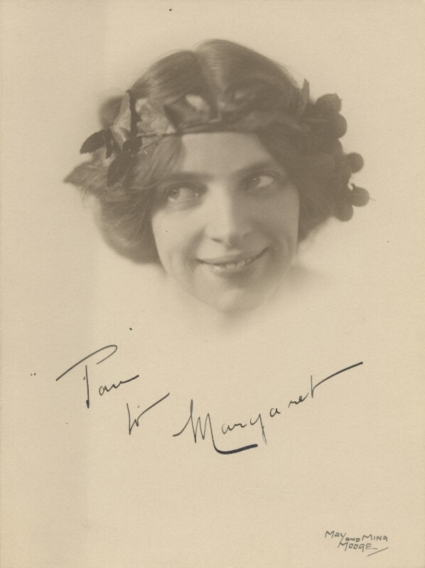 Margaret Morris, by May and Mina Moore, mid 1910s - NPG x200818 -