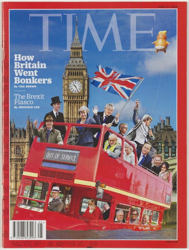 How Britain Went Bonkers, by Coldwar Steve (Christopher Spencer), published by  Time Magazine UK Ltd, published 17 June 2019 - NPG D48909 -