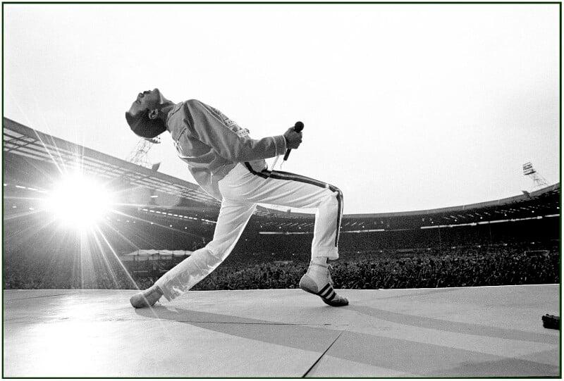 Freddie Mercury by Neal Preston © Queen Productions Ltd NPG x201381
