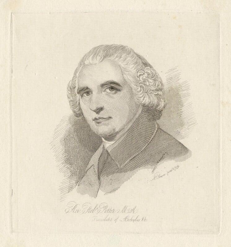 Robert Potter, by Mary Dawson Turner (née Palgrave), after  A. Payne, (1789) - NPG D4981 - © National Portrait Gallery, London