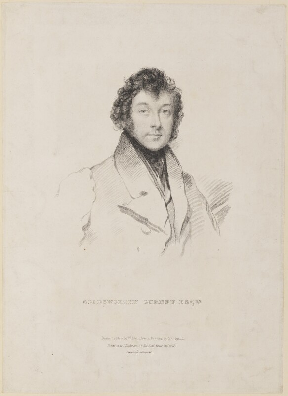 Sir Goldsworthy Gurney, by William Sharp, after  Stephen Catterson Smith, published 1829 - NPG D8263 - © National Portrait Gallery, London