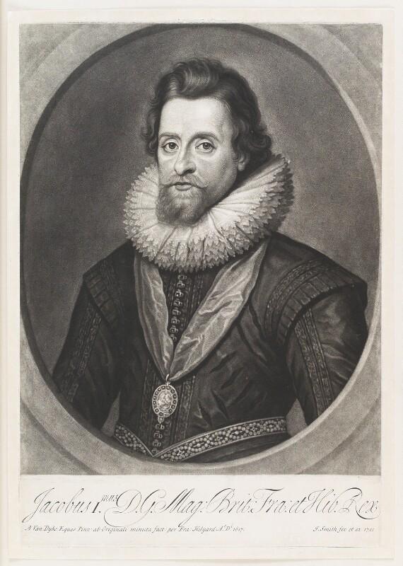 NPG D25681; King James I of England and VI of Scotland