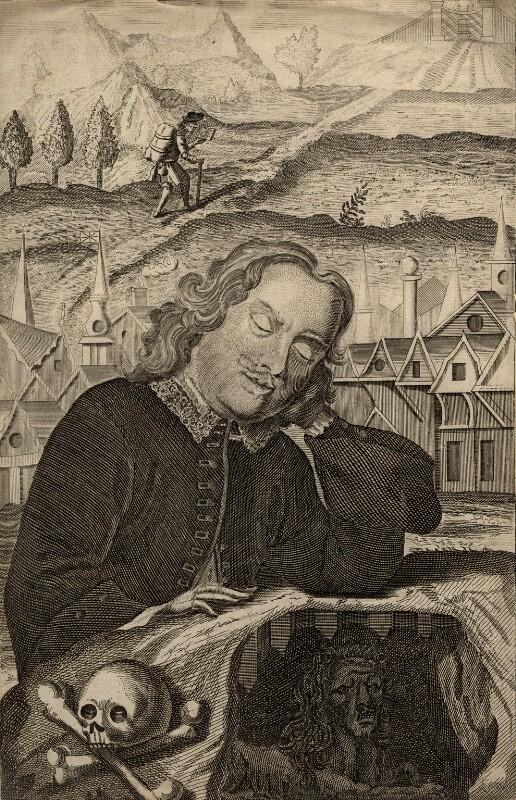 John Bunyan, after Robert White, (1679) - NPG D1139 - © National Portrait Gallery, London
