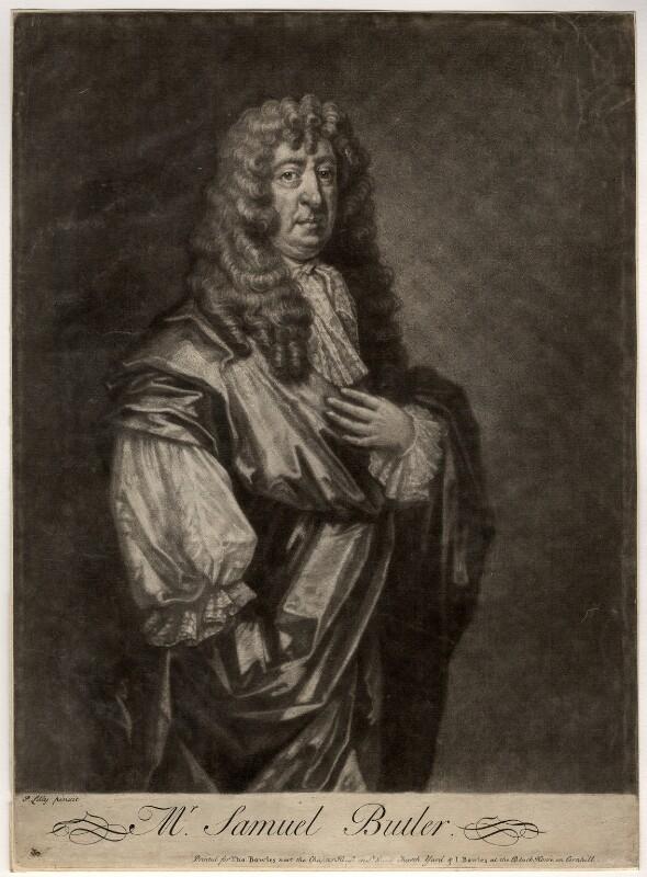 Samuel Butler, after Gilbert Soest, circa 1680 - NPG D1154 - © National Portrait Gallery, London