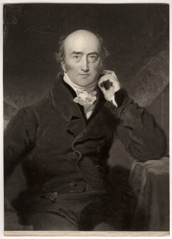 George Canning, by Charles Turner, after  Sir Thomas Lawrence, published 1827 - NPG D1208 - © National Portrait Gallery, London