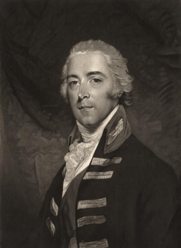 John Pitt, 2nd Earl of Chatham, by Valentine Green, after  John Hoppner, published 1799 - NPG D1283 - © National Portrait Gallery, London