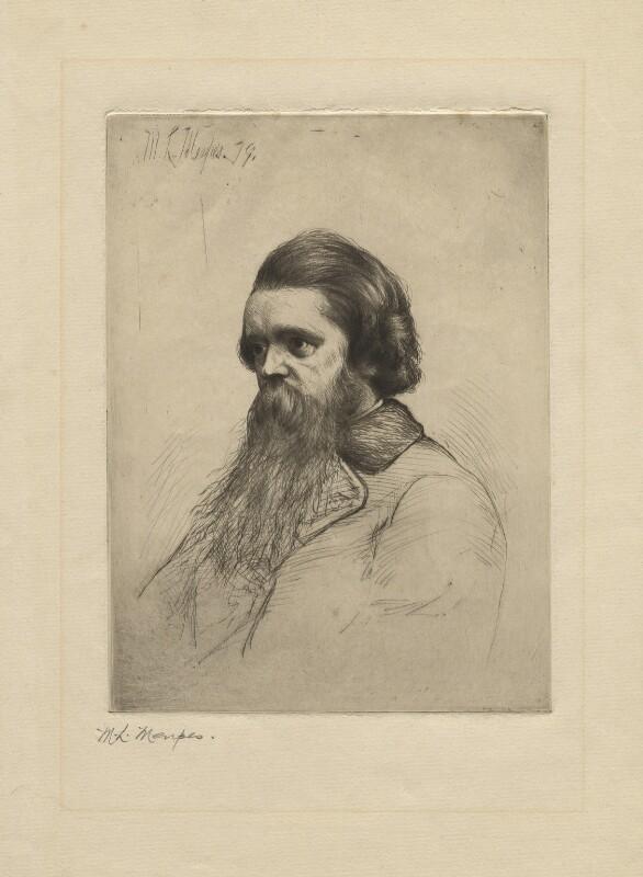 George Barnett Smith, by Mortimer Luddington Menpes, 1879 - NPG D1294 - © National Portrait Gallery, London
