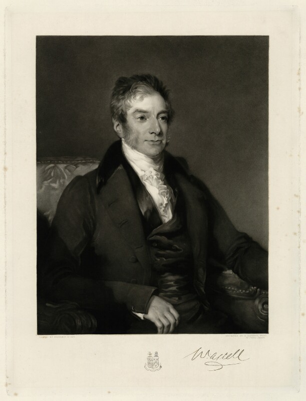 William Astell, by George Raphael Ward, after  Frederick Richard Say, mid 19th century - NPG D1295 - © National Portrait Gallery, London