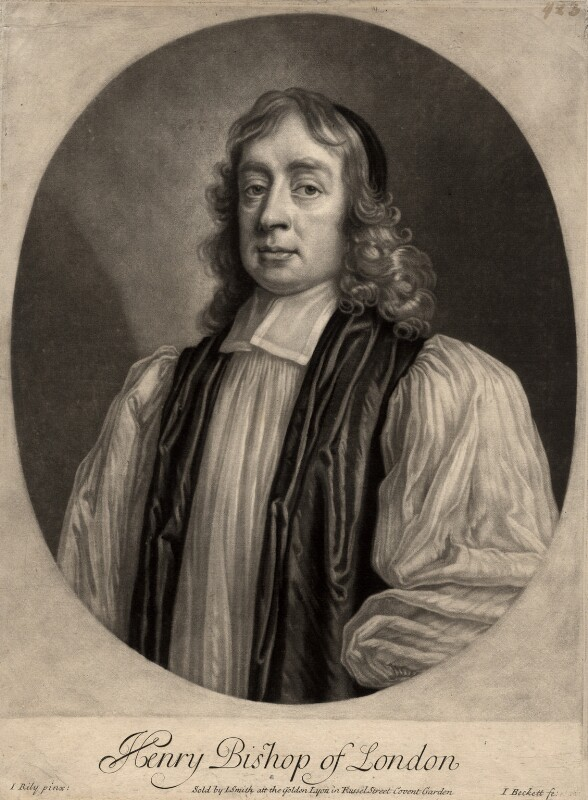 Henry Compton, by Isaac Beckett, after  John Riley, (circa 1680-1685) - NPG D1511 - © National Portrait Gallery, London