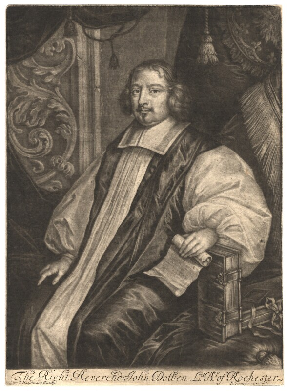 John Dolben, published by Richard Tompson, after  Jacob Huysmans, 1678-1679 - NPG D1651 - © National Portrait Gallery, London