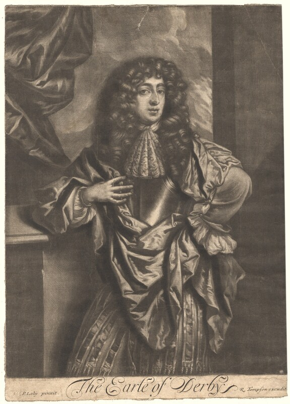William George Richard Stanley, 9th Earl of Derby, published by Richard Tompson, after  Sir Peter Lely, 1678-1679 - NPG D1744 - © National Portrait Gallery, London