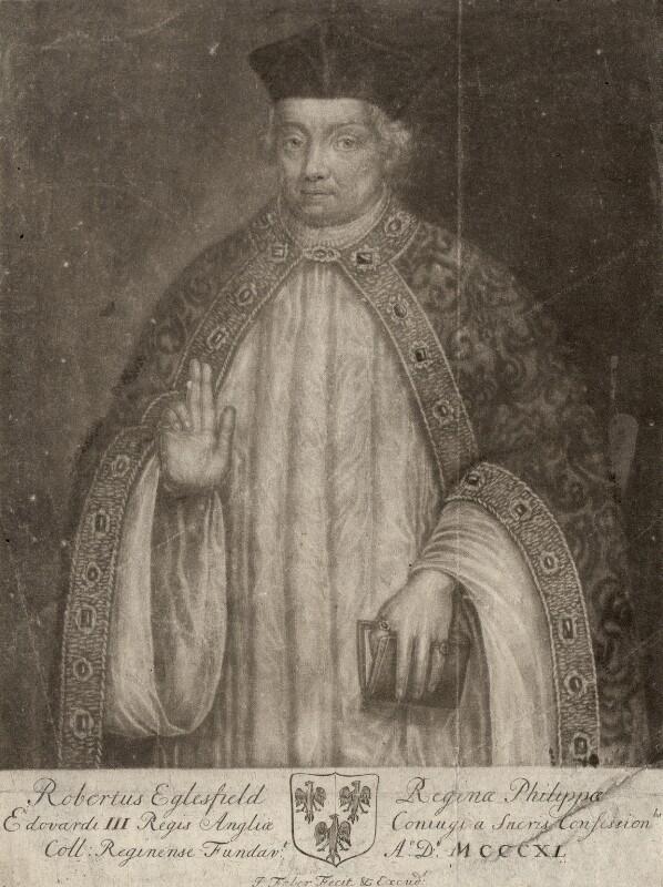 Robert Eglesfield, by John Faber Sr, after  Unknown artist, 1712-1714 - NPG D1848 - © National Portrait Gallery, London