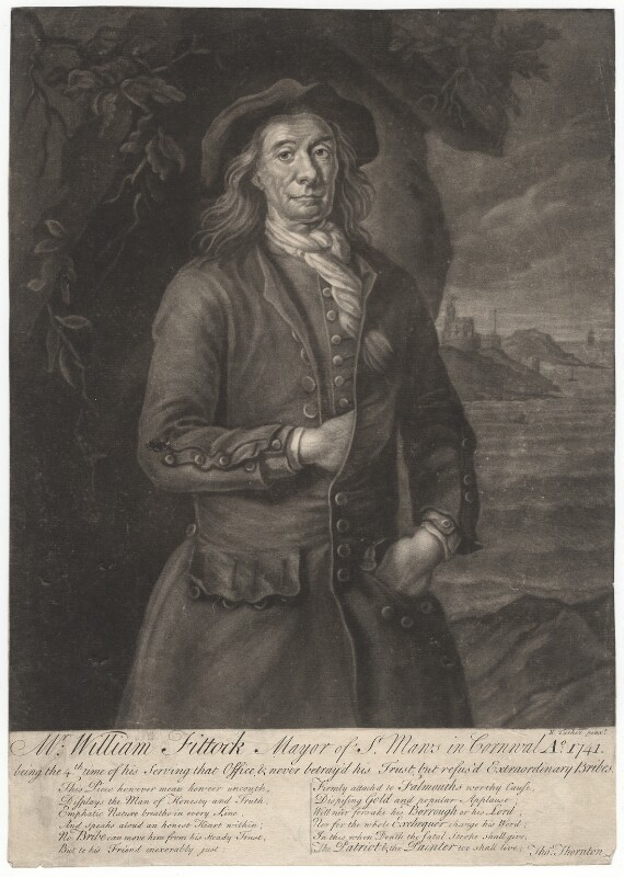 William Fittock, after Nathaniel Tucker, 1741 or after - NPG D1955 - © National Portrait Gallery, London