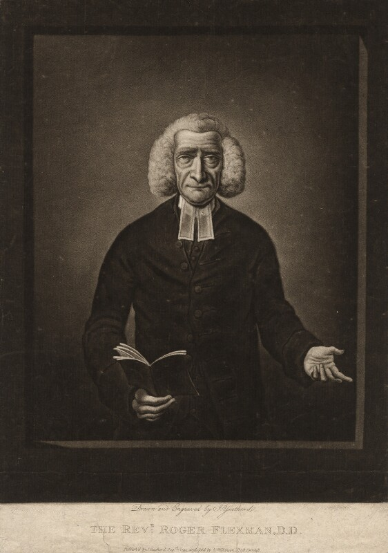 Roger Flexman, by and published by John Yeatherd, sold by  Robert Wilkinson, published August 1795 - NPG D1973 - © National Portrait Gallery, London