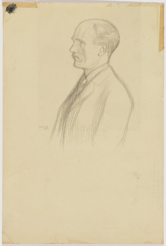 (George) Gilbert Aimé Murray, by William Rothenstein,  - NPG D200 - © National Portrait Gallery, London