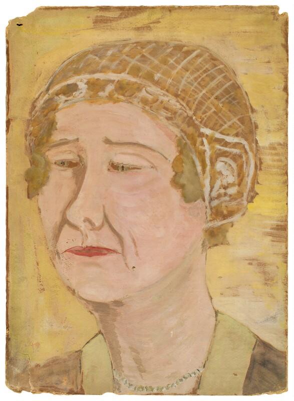 Alda von Anrep, by Ray Strachey, 1925-1937 - NPG D201 - © National Portrait Gallery, London