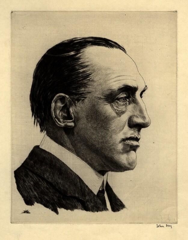 Edward Henry Carson, 1st Baron Carson, by John George Day, 1914 - NPG D2023 - © National Portrait Gallery, London