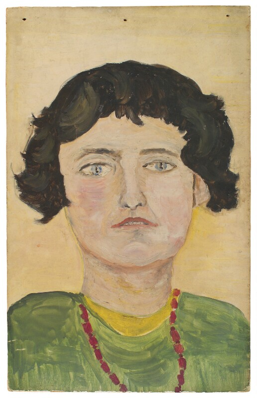 Barbara Bagenal (née Hiles), by Ray Strachey, late 1920s or early 1930s - NPG D203 - © National Portrait Gallery, London