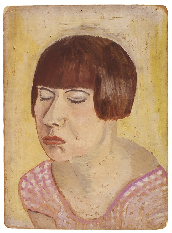 Janie Bussy, by Rachel Pearsall Conn ('Ray') Strachey (née Costelloe), 1930s? - NPG D208 - © National Portrait Gallery, London
