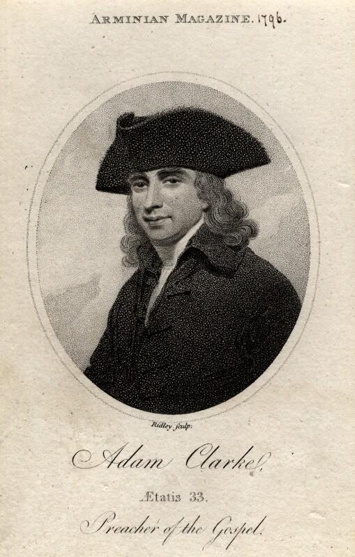 Adam Clarke, by William Ridley, published 1796 - NPG D2080 - © National Portrait Gallery, London