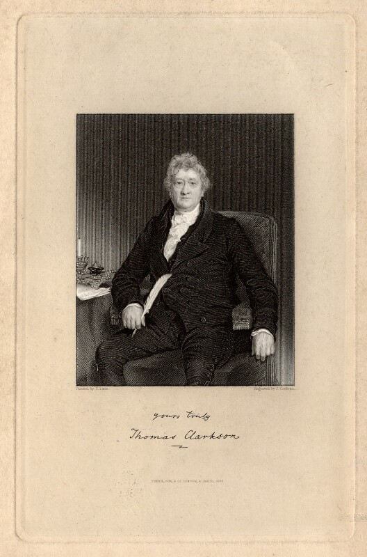 Thomas Clarkson, by John Cochran, after  Samuel Lane, published 1836 - NPG D2085 - © National Portrait Gallery, London
