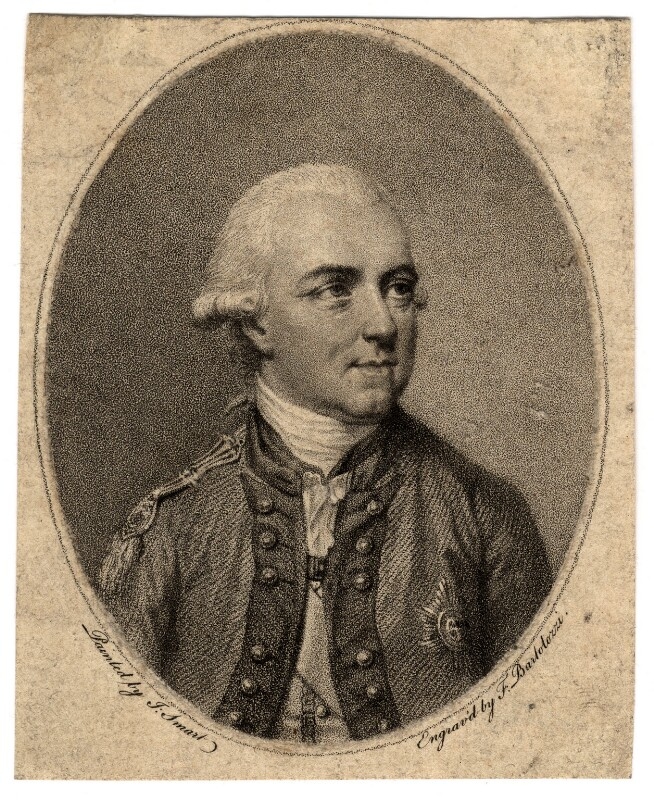 Sir Henry Clinton, by Francesco Bartolozzi, after  John Smart, published 1780 - NPG D2087 - © National Portrait Gallery, London