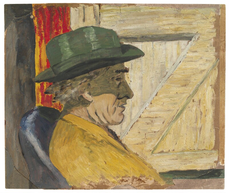 Roger Fry, by Rachel Pearsall Conn ('Ray') Strachey (née Costelloe), late 1920s or early 1930s - NPG D215 - © National Portrait Gallery, London