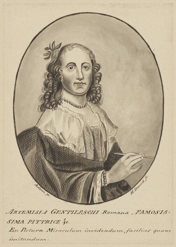Npg D2167 Artemisia Gentileschi Portrait National Portrait Gallery