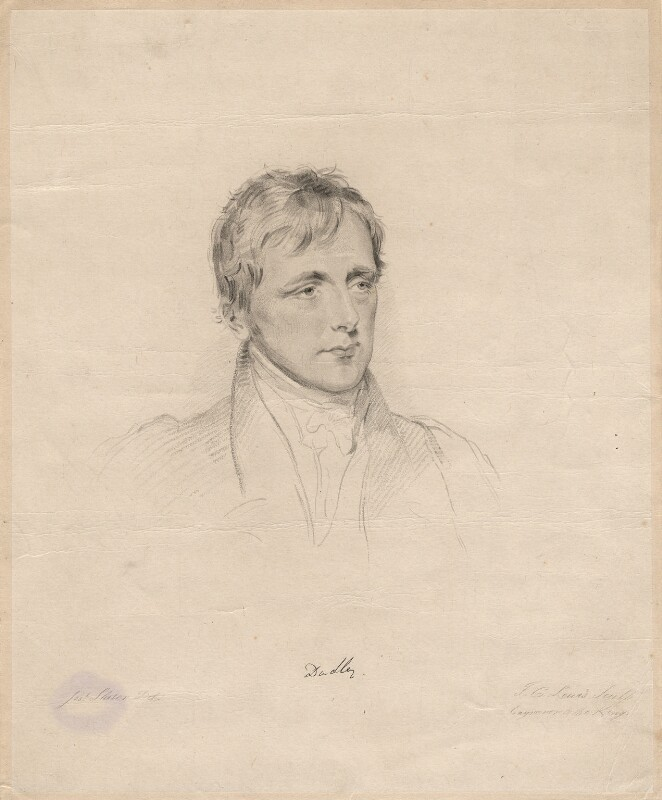 John William Ward, 1st Earl of Dudley, by Frederick Christian Lewis Sr, after  Joseph Slater,  - NPG D2287 - © National Portrait Gallery, London