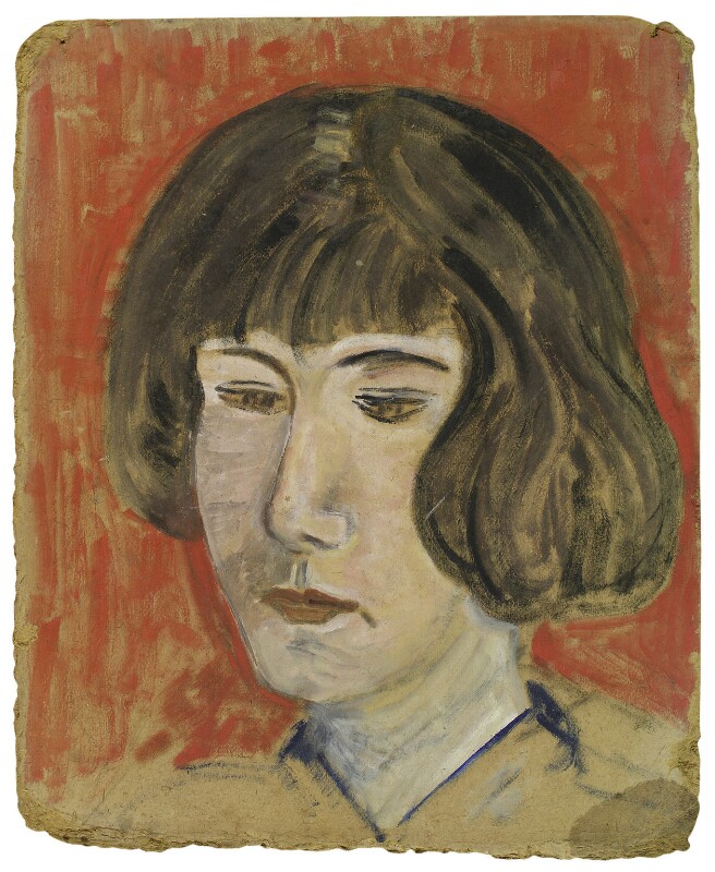 Barbara Strachey (Hultin, later Halpern), by Rachel Pearsall Conn ('Ray') Strachey (née Costelloe), circa 1926 - NPG D233 - © National Portrait Gallery, London