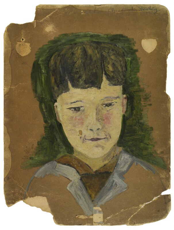 Christopher Strachey, by Rachel Pearsall Conn ('Ray') Strachey (née Costelloe), 1923 - NPG D234 - © National Portrait Gallery, London
