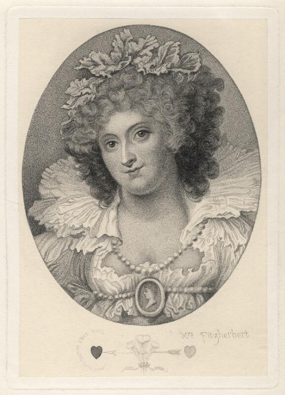 Maria Anne Fitzherbert (née Smythe), after Richard Cosway, after 1792 - NPG D2344 - © National Portrait Gallery, London