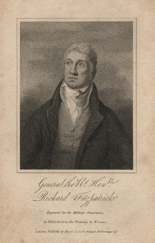 Richard Fitzpatrick, by Henry Richard Cook, after  William Lane, circa 1813 - NPG D2346 - © National Portrait Gallery, London