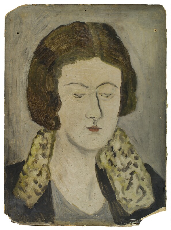Julia Frances Strachey, by Ray Strachey, 1925-1937 - NPG D235 - © National Portrait Gallery, London