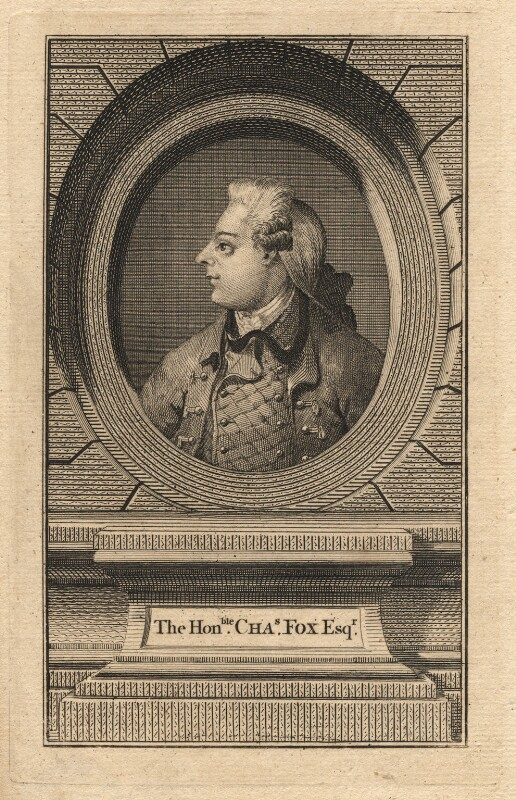 Charles James Fox, after Unknown artist, late 18th century - NPG D2363 - © National Portrait Gallery, London