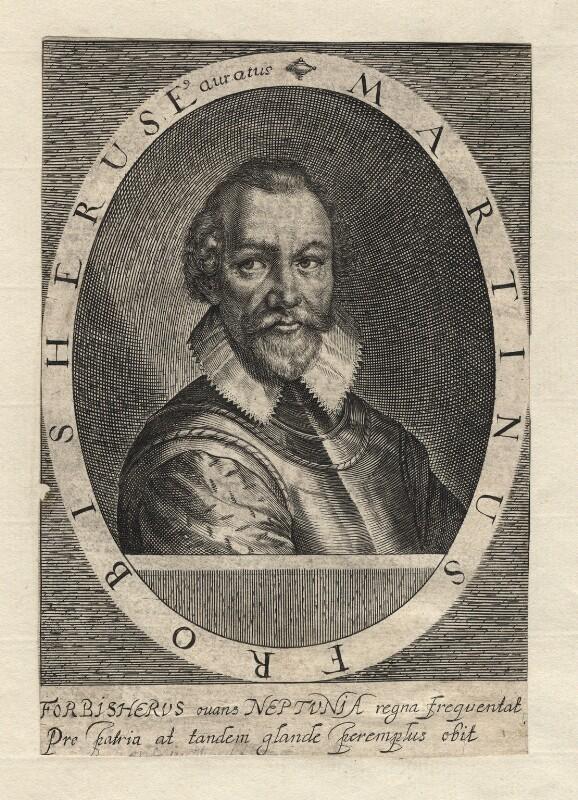 Sir Martin Frobisher, by Simon de Passe, published 1620 - NPG D2376 - © National Portrait Gallery, London