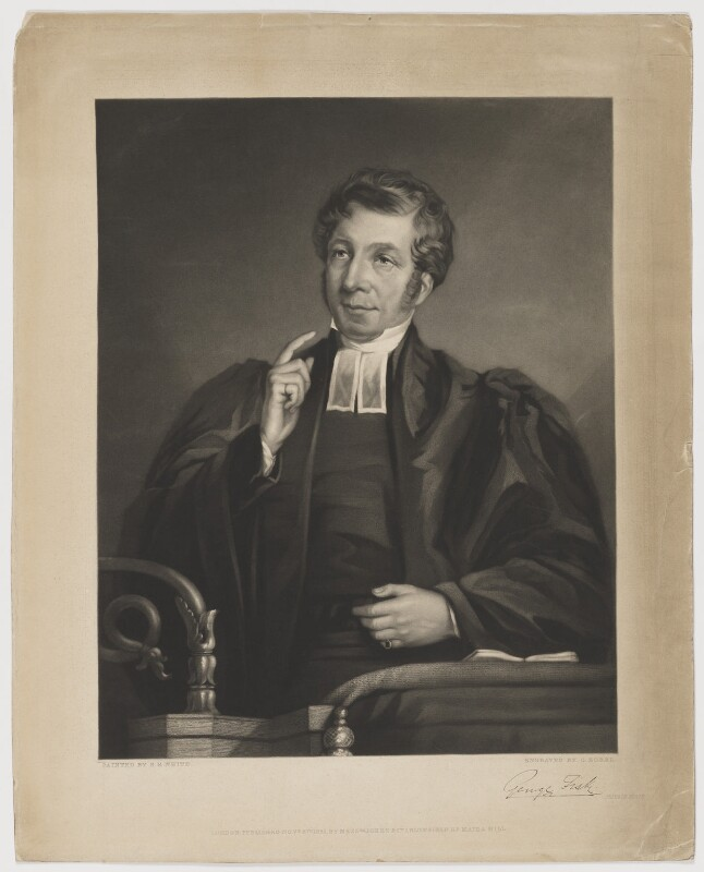 George Fisk, by George Zobel, after  E.R. White,  - NPG D2385 - © National Portrait Gallery, London