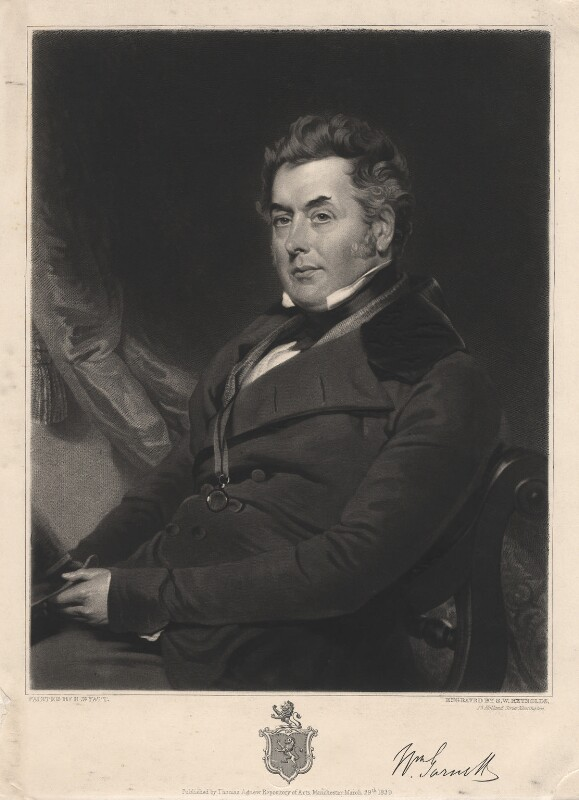 William Garnett, by Samuel William Reynolds, published by  Thomas Agnew, after  Henry Wyatt, published 29 March 1839 - NPG D2398 - © National Portrait Gallery, London