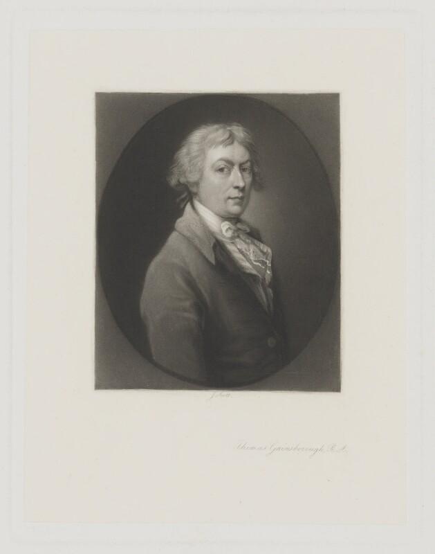 Thomas Gainsborough, by James Scott, after  Thomas Gainsborough, 1850s-1880s (1787-1788) - NPG D2411 - © National Portrait Gallery, London