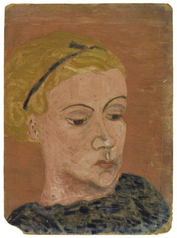 Ursula Margaret Wentzel (née Strachey), by Rachel Pearsall Conn ('Ray') Strachey (née Costelloe), circa 1929 - NPG D250 - © National Portrait Gallery, London