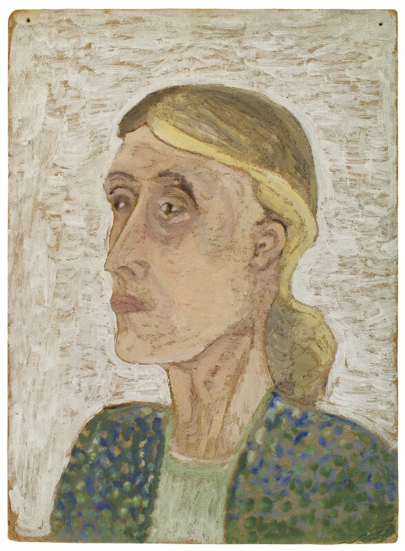 Virginia Woolf, by Ray Strachey, late 1920s - NPG D256 - © National Portrait Gallery, London