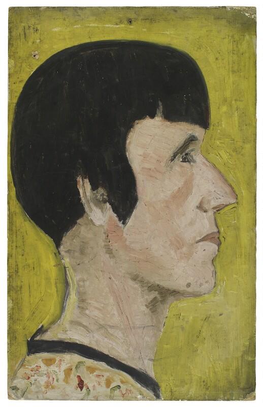 Beryl de Zoete, by Ray Strachey, 1925-1937 - NPG D258 - © National Portrait Gallery, London