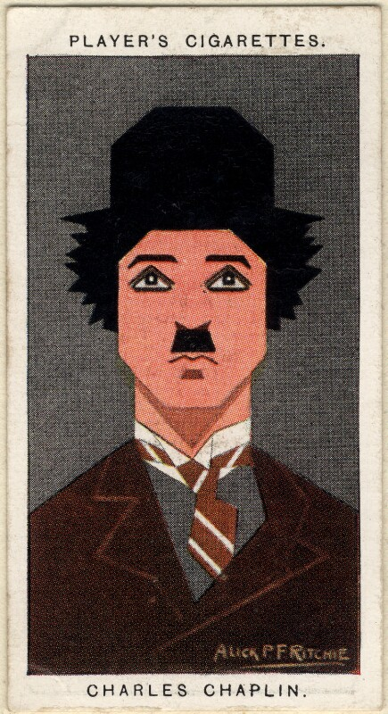 Charlie Chaplin, by Alexander ('Alick') Penrose Forbes Ritchie, 1926 - NPG D2662 - © National Portrait Gallery, London