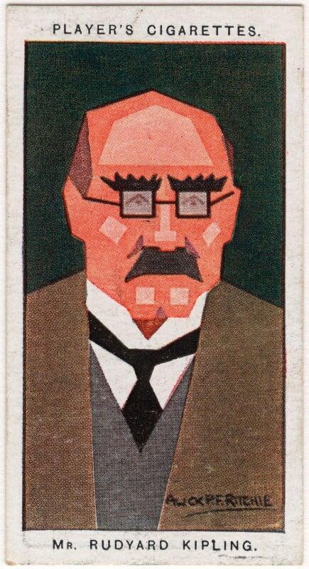Rudyard Kipling, by Alexander ('Alick') Penrose Forbes Ritchie, 1926 - NPG D2673 - © National Portrait Gallery, London
