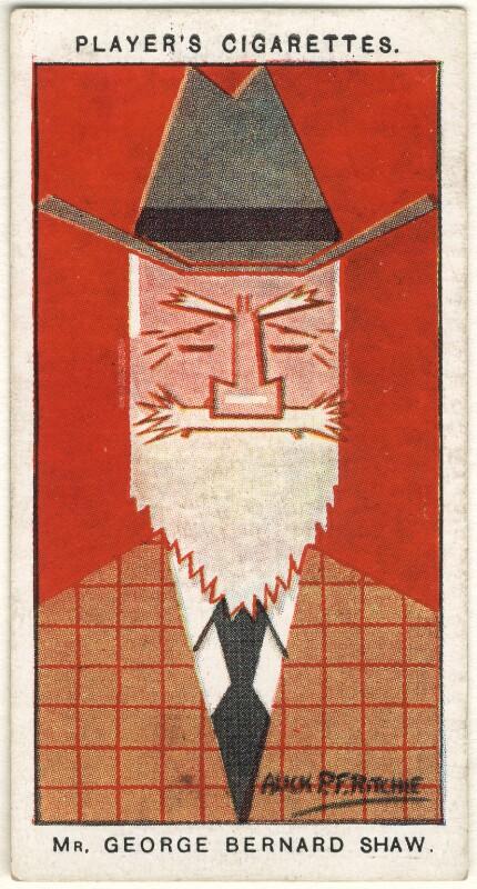George Bernard Shaw, by Alexander ('Alick') Penrose Forbes Ritchie, 1926 - NPG D2686 - © National Portrait Gallery, London